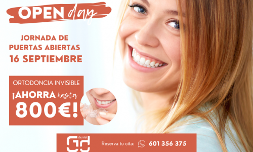 OPEN DAY – Ortodoncia Invisible 16 de septiembre